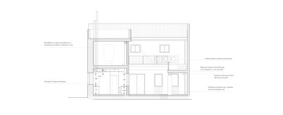 Secció transversal 1
